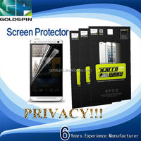 Hot Sale!!! 3M Privacy Screen Ward For HTC One M7
