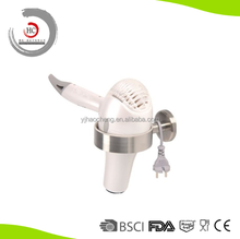 Stainless Steel Wall Mounted Hair Dryer Holder