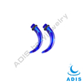 magic blue horn ear claw skin piercing