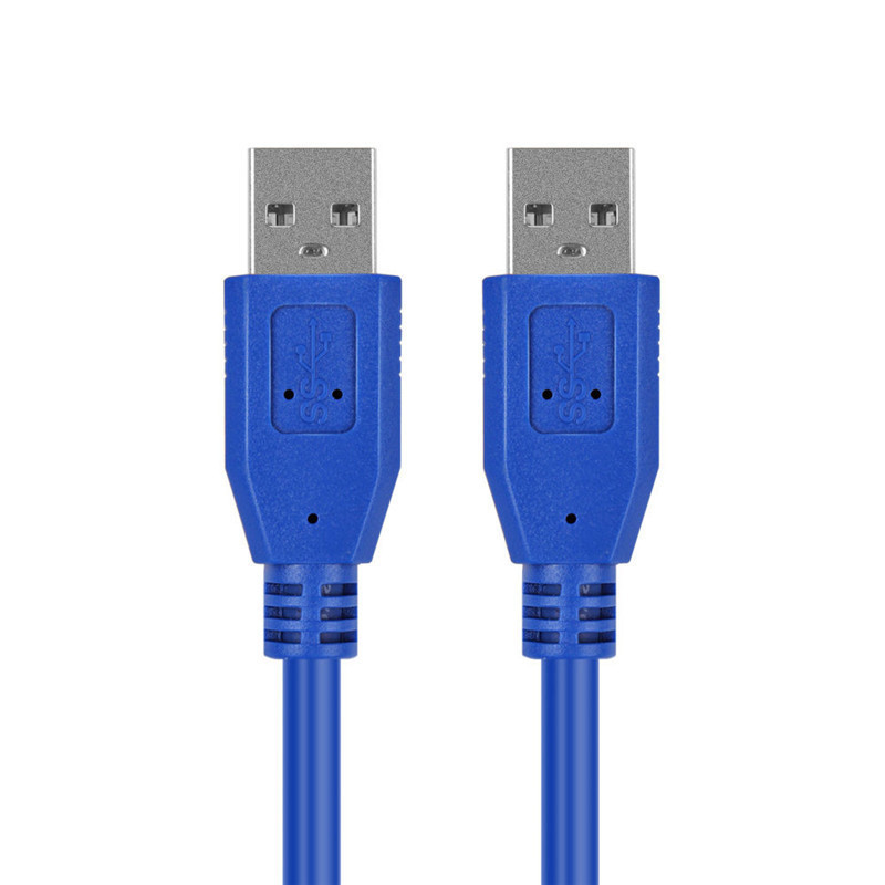 KUYIA USB3.0 Cable Male to Male BLUE 1M 2M 3M 5M 3ft 10ft For HDD DATA