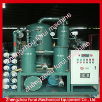 Vacuum Transformer Oil Treatment Plant with high quality