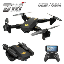 Folding UFO DWI Foldable Quadcopter with HD Camera Selfie Drone VS VISUO XS809HW