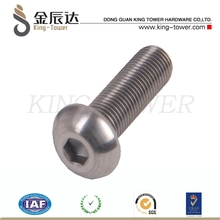 M2 stainless steel jis b 1176 stainless steel screw factory (with ISO card)