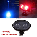 Safety Blue point led light 10w 10-80v LED forklift warning lights