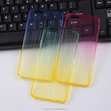 Bling Case Compatible For iPhone 6 Soft TPU Bumper Glitter Brushed Line Dual Colors