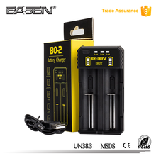 BASEN BO2 battery charger with auto cut off support 20700 batteries