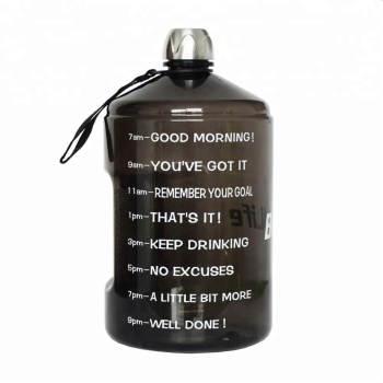 New Products BPA Free Remind the Drink Time with Leak Proof Sport BPA FreeTravel Water Bottle