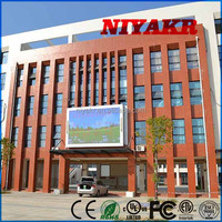 outdoor full color led tv advertising display 3g phone call tablet pc Niyakr mobile led screen truck