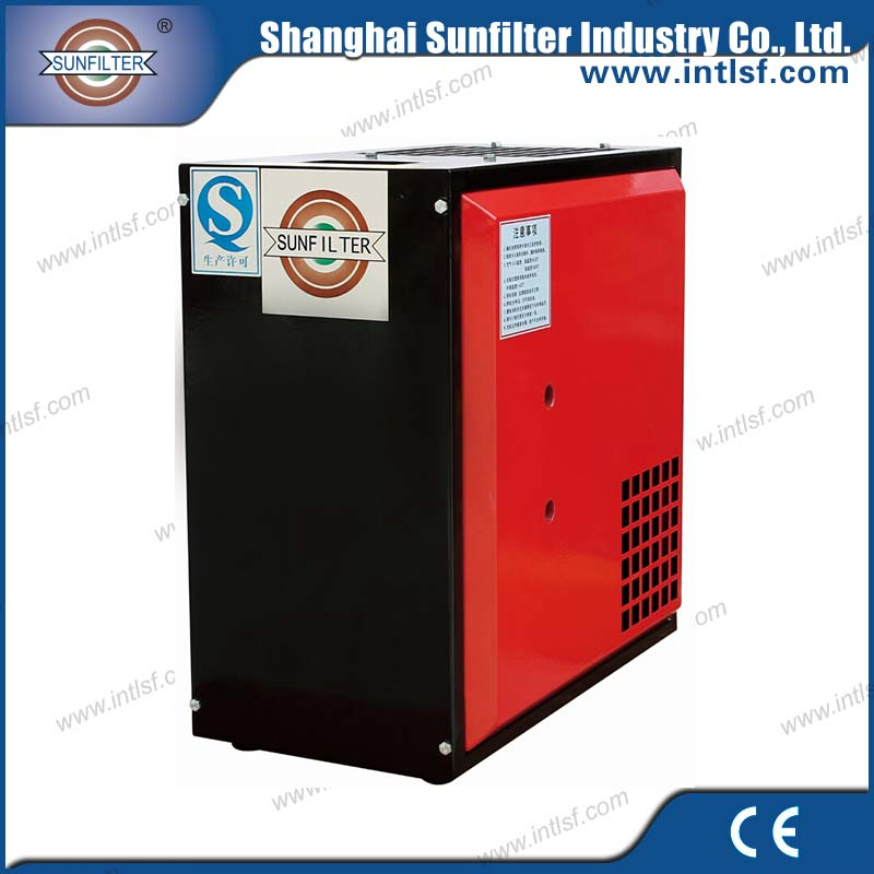Industrial heavy duty air compressor used small flow capacity refrigerant air dryer
