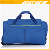 Fundamentals blue duffle trolley , travel bag