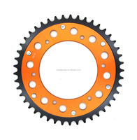 Combined Rear Motorcycle Sprocket #520 46T for KTM Husaberg Husqvarna