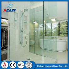 China Manufacturer custom water repellent shower glass