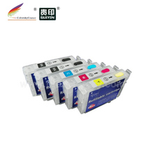 (RCE1291N) refill ink cartridge for Epson T1291 T1291-1294 T129 T <strong>129</strong> Stylus Office BX320FW bk/bk/<strong>c</strong>/m/y (with ARC)