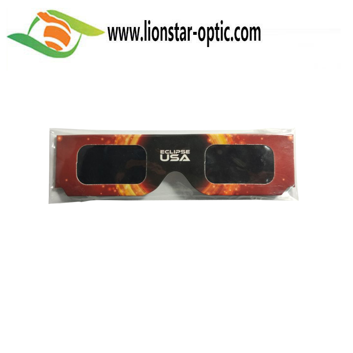 Hot Sale For Solar Eclipse Glasses with customer logo design,Solar Viewing - ISO and CE Certified
