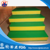Double color UHMWPE / HDPE plastic sheet for decoration