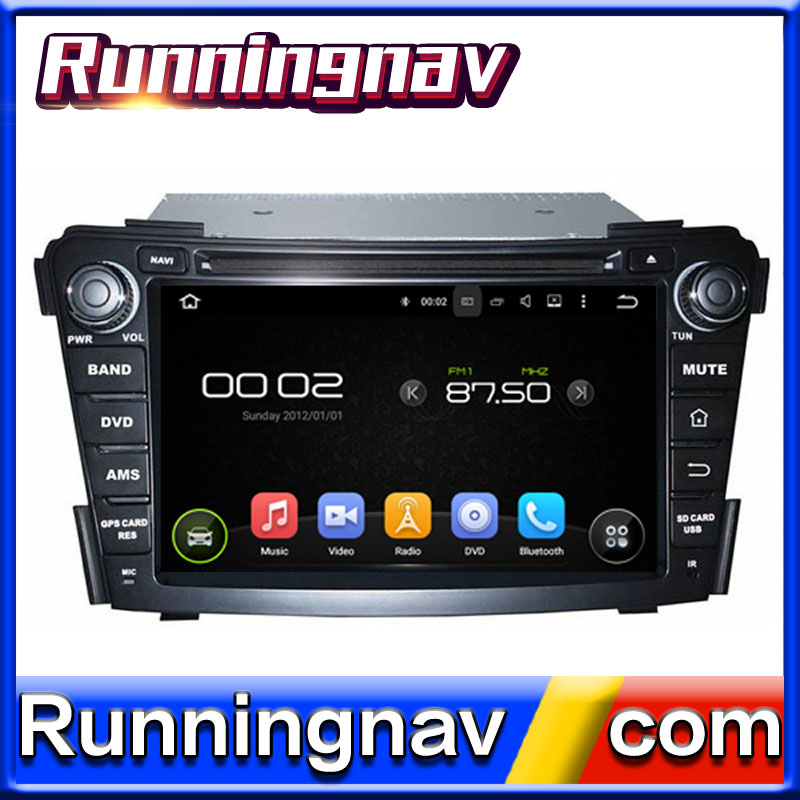 for Hyundai I40 Navigation Headunit car DVD Stereo Andriod System