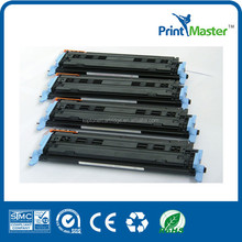 Color toner cartridge Q600A For HP Q6000A with Mitsubishi toner powder