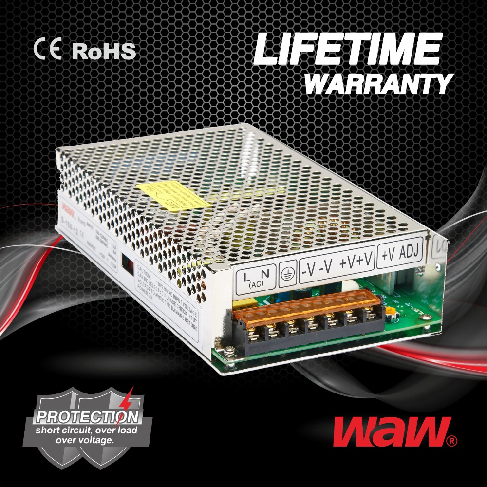 48v 3.2a 150w S-150-48 ac to dc 110V/220V Switching Power Supply CCTV power supply with CE ROHS approved