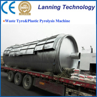 Large capacity factory price tyre pyrolysis plant manufacturers from china