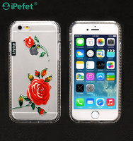 flower pattern design phone case Mobile Phone Accessories Case for iphone 6/6s