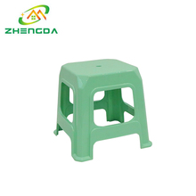 Credible durable modern kitchen colorful small plastic foot stool