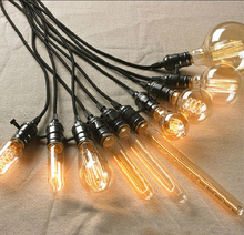 Classic retro style edison lighting bulb manufacturers decorative carbon filament lamp 40w vintage antique edison bulb