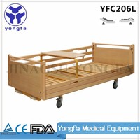 YFC206L Hot Selling Modern Design Medical Bed wooden hospital bed