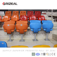 plastic stadium chair price OZ-3058 Folding seat for football sports center