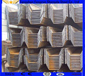 China Steel Sheet Pile for sales/piling beam/used steel sheet pile