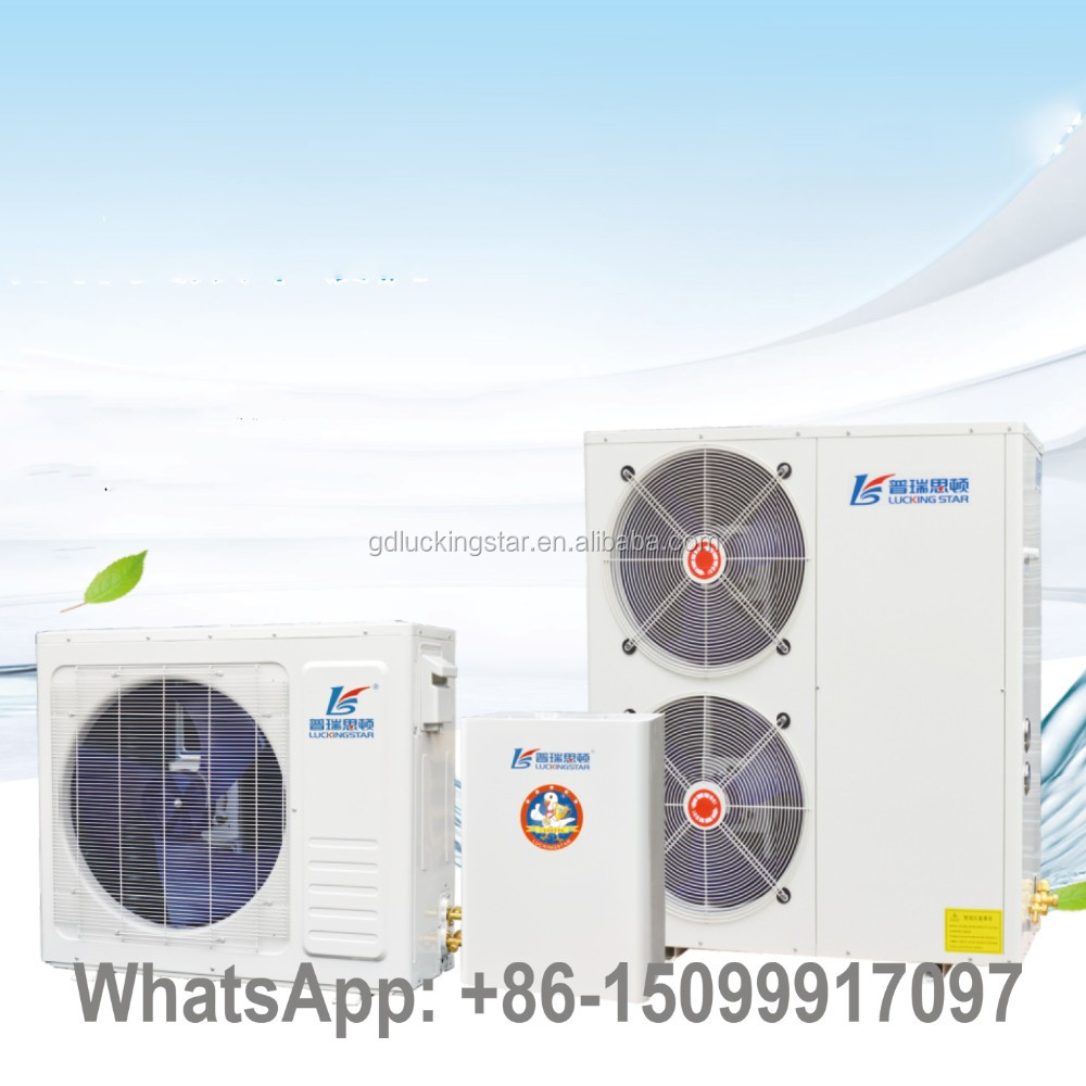 Multifunction DC Inverter Air to Water Heating Cooling Pump 60Degree Sanitary Hot Water