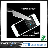 High Quality 9h tempered glass screen protector film for iPod touch 5