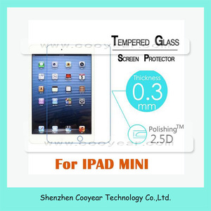 9H Anti-scratch Tempered Glass Screen Protector For iPad Mini 4