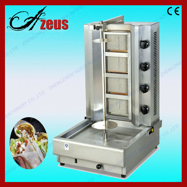Gas/electric doner kebab grill machine for sale