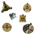 Formwork casting forged wing nuts