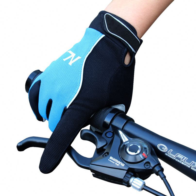 Men and women cycling gloves full finger shockproof non-slip bike sports gloves