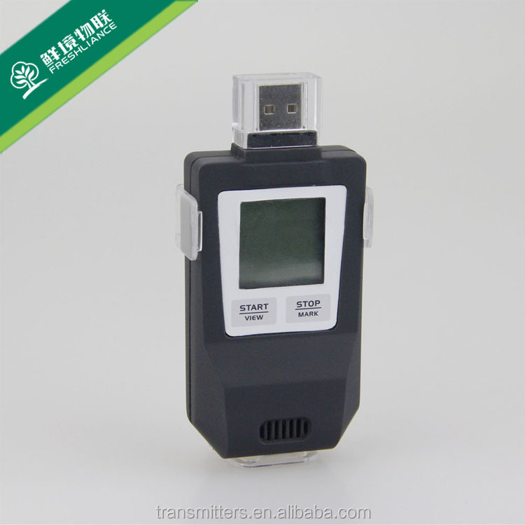 USB data logger which widely used for food storage and transport of <strong>temperature</strong> and humidity monitoring and recording