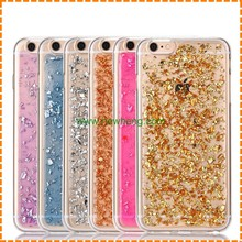 Newest Drop Rubber Glitter Tpu moblie Phone case for iphone 7 plus
