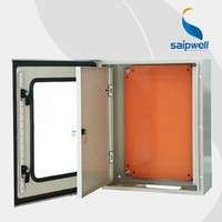 high quality metal enclosure distribution box IP66 300*250*150mm, electric heater box