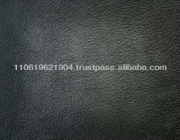 Finished Black Kangaroo Skin Leather for Sale