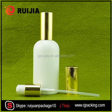 100ml White Glass drip Bottle for essential oil