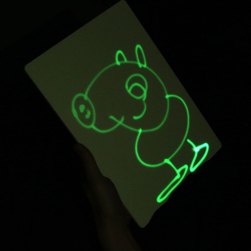 Tracing Light Box Toy Stencil Tattoo Preschool Light Table Night Glowing Pen For Childrenart Drawing Light Board