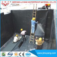 3mm 4mm Self Adhesive Modified Bituminous Waterproofing Membrane for Roof