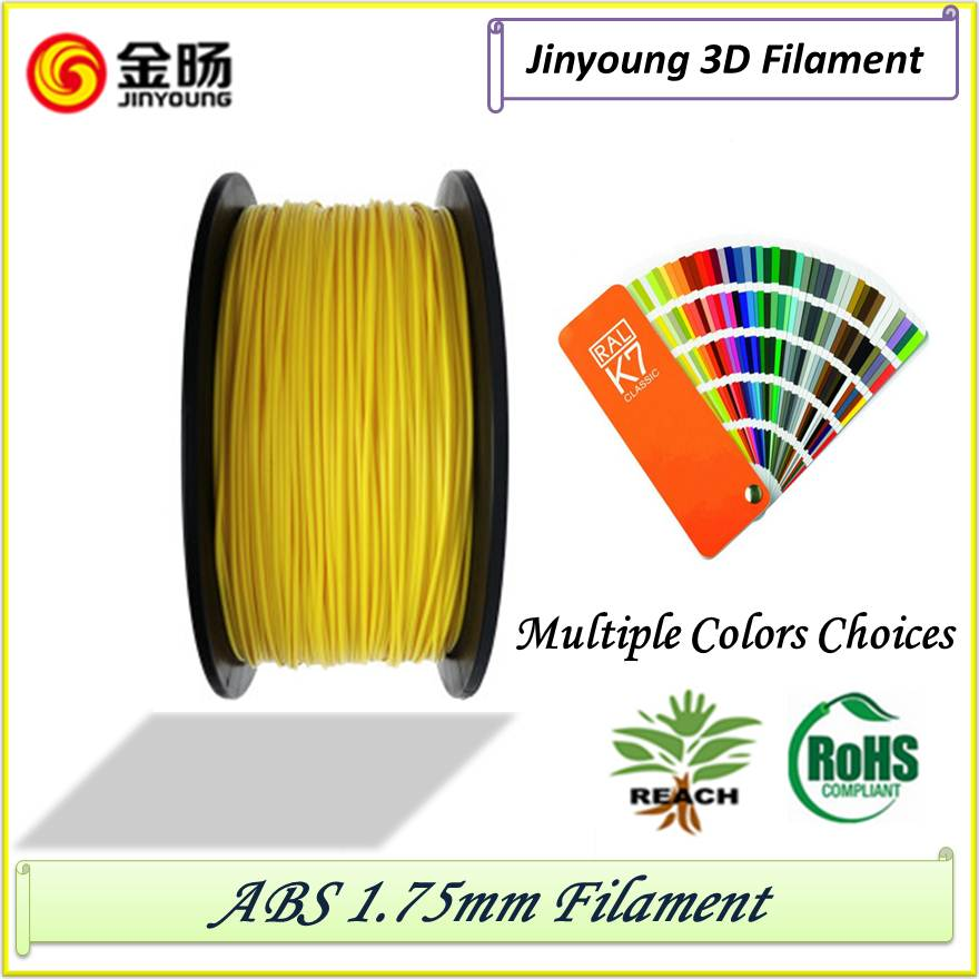 1.75 ABS Filament New Products ABS 3D Filament For FDM 3D Printer