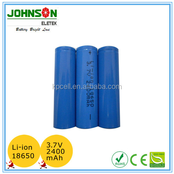 3.7v icr 18650 Li-ion battery in rechargeable battery