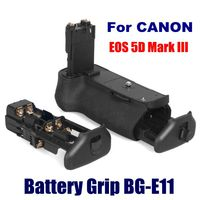 Professional Digital Camera Parts for Canon Vertical Battery Grip BG-E11 Replacement for Canon EOS Mark III 5D Battery Grip