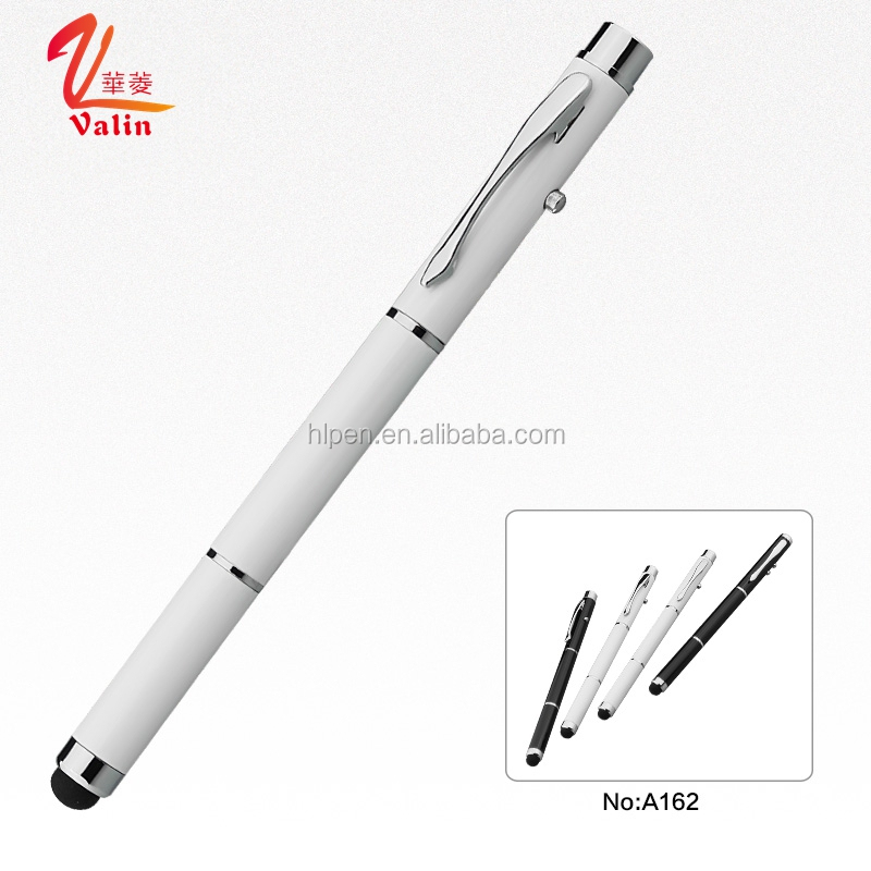 Black and White Banner Design Laser Touch Screen Stylus <strong>Pen</strong>