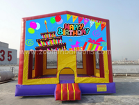 Factory directly sell inflatable bungee trampoline for birthday party Z1236