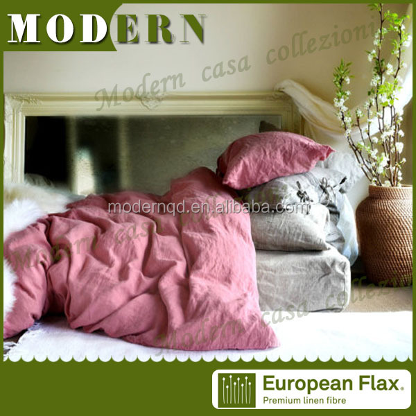 wholesalers china linen / single bed sheet / linen bed sheet