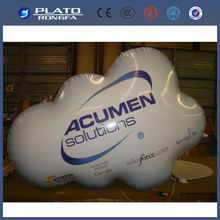 Inflatable floating advertising helium balloon/ inflatable cloud sky balloon / giant advertising balloons