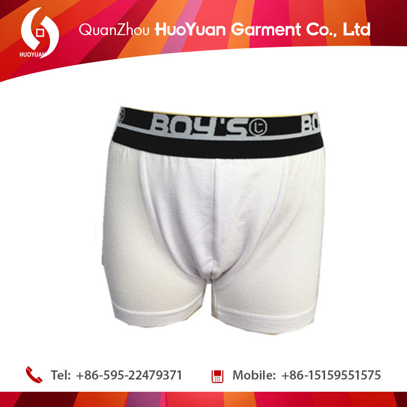 huoyuan wholesale oem sexy young boys thong underwear